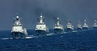 Mil_Chinese Nval Drills SCS